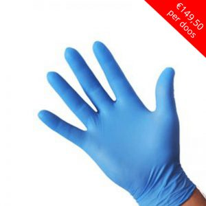 Nitrile Blauw Poedervrij Extra Strong