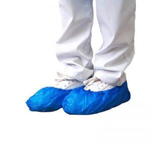 Schoenovertrek blauw