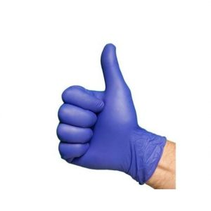 Soft nitrile kobalt eco line handschoen