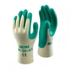 werkhandschoen showa  groen