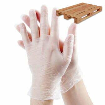 Pallet Vinyl handschoenen Wit poedervrij